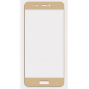 Полноэкранное ультратонкое износоустойчивое сколостойкое олеофобное защитное стекло-пленка для Xiaomi MI5 Бежевый