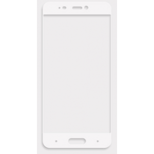Полноэкранное ультратонкое износоустойчивое сколостойкое олеофобное защитное стекло-пленка для Xiaomi MI5 Белый