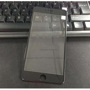Полноэкранное ультратонкое износоустойчивое сколостойкое олеофобное защитное стекло-пленка для Iphone 6 Plus/6s Plus Черный
