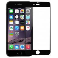Полноэкранное ультратонкое износоустойчивое сколостойкое олеофобное защитное стекло-пленка для Iphone 7 Plus/8 Plus Черный