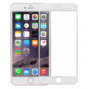 Полноэкранное ультратонкое износоустойчивое сколостойкое олеофобное защитное стекло-пленка для Iphone 7 Plus/8 Plus
