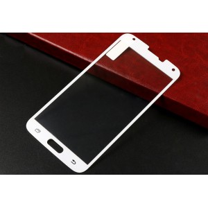 Ультратонкое износоустойчивое сколостойкое олеофобное защитное стекло-пленка для Samsung Galaxy S5 (Duos)