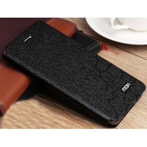 Чехол горизонтальная книжка подставка текстура Соты на силиконовой основе для Huawei P10