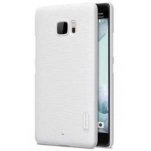 Пластиковый непрозрачный матовый нескользящий премиум чехол для HTC U Ultra