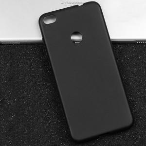 Силиконовый матовый непрозрачный чехол для Huawei Honor 8 Lite