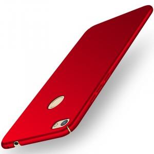Пластиковый непрозрачный матовый нескользящий премиум чехол с улучшенной защитой элементов корпуса для Huawei Honor 8 Lite