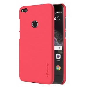 Пластиковый непрозрачный матовый нескользящий премиум чехол для Huawei Honor 8 Lite