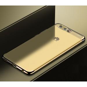 Силиконовый глянцевый полупрозрачный чехол для Huawei P10 Plus