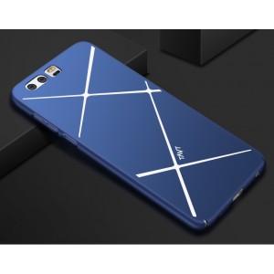 Пластиковый непрозрачный чехол текстура Линии для Huawei P10 Plus