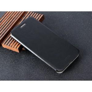 Чехол горизонтальная книжка подставка на силиконовой основе для Huawei P10 Plus