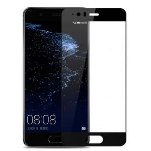 Полноэкранное ультратонкое износоустойчивое сколостойкое олеофобное защитное стекло-пленка для Huawei P10 Plus
