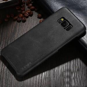 Чехол накладка текстурная отделка Кожа для Samsung Galaxy S8 Plus