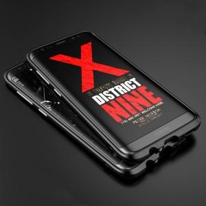 Металлический округлый премиум бампер сборного типа на винтах для Samsung Galaxy S8 Plus