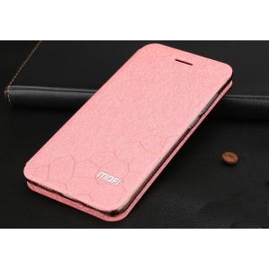 Чехол горизонтальная книжка подставка текстура Соты на силиконовой основе для Huawei Honor 8 Lite