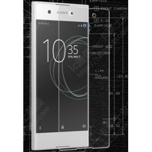 Ультратонкое износоустойчивое сколостойкое олеофобное защитное стекло-пленка для Sony Xperia XA1