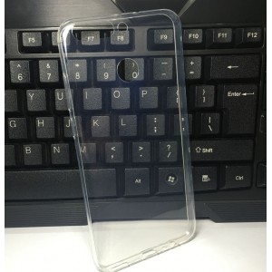 Силиконовый глянцевый транспарентный чехол для Huawei Honor 8 Pro