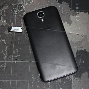 Ультратонкое износоустойчивое сколостойкое олеофобное защитное стекло-пленка для Doogee X9 Pro