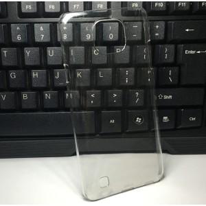 Пластиковый транспарентный чехол для LG X cam
