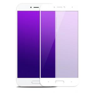 Полноэкранное ультратонкое износоустойчивое сколостойкое олеофобное защитное стекло-пленка для Xiaomi Mi5C Белый