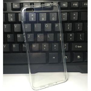 Силиконовый глянцевый транспарентный чехол для Xiaomi Mi5C