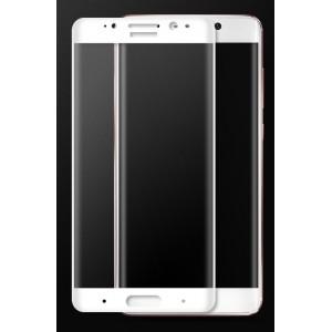 Полноэкранное ультратонкое износоустойчивое сколостойкое олеофобное защитное стекло-пленка для Huawei Mate 9 Pro Белый
