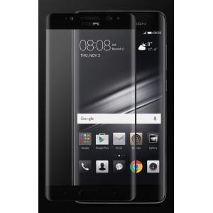 Полноэкранное ультратонкое износоустойчивое сколостойкое олеофобное защитное стекло-пленка для Huawei Mate 9 Pro Черный