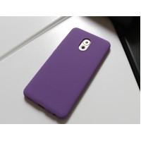 Силиконовый матовый непрозрачный чехол с нескользящим софт-тач покрытием для Meizu Pro 6 Plus