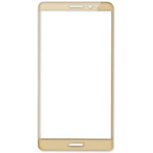 Полноэкранное ультратонкое износоустойчивое сколостойкое олеофобное защитное стекло-пленка для Huawei Mate 8 Бежевый