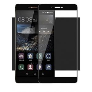 Полноэкранное ультратонкое износоустойчивое сколостойкое олеофобное защитное стекло-пленка для Huawei P8