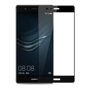Полноэкранное ультратонкое износоустойчивое сколостойкое олеофобное защитное стекло-пленка для Huawei P9