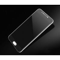 Полноэкранное ультратонкое износоустойчивое сколостойкое олеофобное защитное стекло-пленка для Meizu Pro 6  Черный