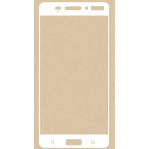 Полноэкранное ультратонкое износоустойчивое сколостойкое олеофобное защитное стекло-пленка для Nokia 6 Белый