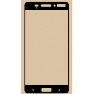 Полноэкранное ультратонкое износоустойчивое сколостойкое олеофобное защитное стекло-пленка для Nokia 6