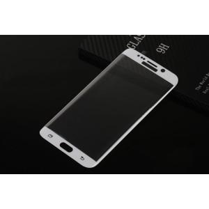 Полноэкранное ультратонкое износоустойчивое сколостойкое олеофобное защитное стекло-пленка для Samsung Galaxy S6 Edge Plus