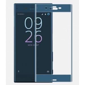 Полноэкранное ультратонкое износоустойчивое сколостойкое олеофобное защитное стекло-пленка для Sony Xperia XZ/XZs