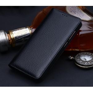 Кожаный чехол горизонтальная книжка (премиум нат. кожа) для Huawei Honor Note 8