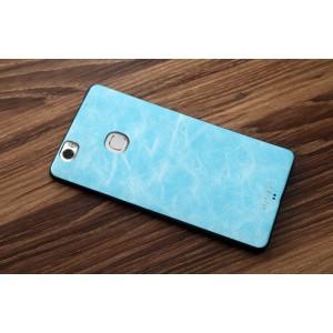 Силиконовый матовый непрозрачный чехол с текстурным покрытием Кожа для Huawei Honor Note 8