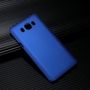 Пластиковый непрозрачный матовый чехол для Samsung Galaxy J7 (2016)