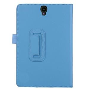 Чехол книжка подставка с рамочной защитой экрана и крепежом для стилуса для Samsung Galaxy Tab S3