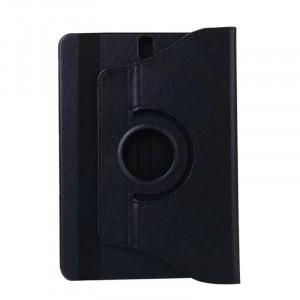 Роторный чехол книжка подставка на непрозрачной поликарбонатной основе с поддержкой кисти для Samsung Galaxy Tab S3