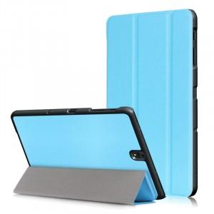 Сегментарный чехол книжка подставка на непрозрачной поликарбонатной основе для Samsung Galaxy Tab S3
