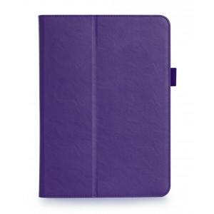 Сегментарный чехол книжка подставка с рамочной защитой экрана, крепежом для стилуса, отсеком для карт и поддержкой кисти для Samsung Galaxy Tab S3