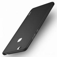 Пластиковый непрозрачный матовый чехол с допзащитой торцев для Huawei Honor Note 8