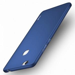 Пластиковый непрозрачный матовый чехол с допзащитой торцов для Huawei Honor Note 8