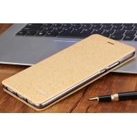 Чехол горизонтальная книжка подставка текстура Соты на силиконовой основе для Huawei Honor Note 8