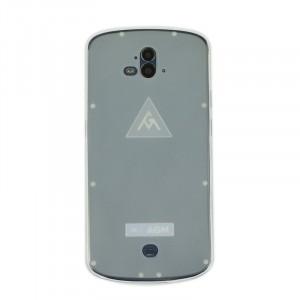 Силиконовый матовый полупрозрачный чехол для AGM X1 Белый