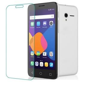 Ультратонкое износоустойчивое сколостойкое олеофобное защитное стекло-пленка для Alcatel One Touch POP 3 5.5
