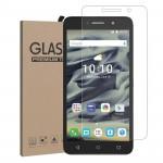 Ультратонкое износоустойчивое сколостойкое олеофобное защитное стекло-пленка для Alcatel One Touch Pixi 4 (6)