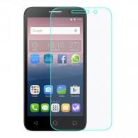 Ультратонкое износоустойчивое сколостойкое олеофобное защитное стекло-пленка для Alcatel Pop 4S