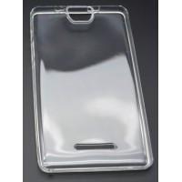 Силиконовый глянцевый полупрозрачный чехол для Acer Iconia Talk S A1-734 Белый